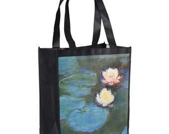 Water Lilies #2 Grocery Bag
