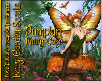 Fairy Cake: Pumpkin - Sweet & Youthful Layerable Perfume - Love Potion Magickal Perfumerie