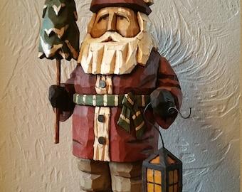 Tree Time Santa