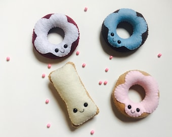Happy Donut Plushies