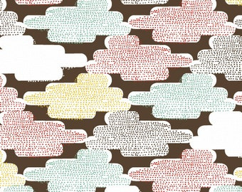Cloud 9 Organic Fabric - Up, Up & Away collection skinny laMinx Cloudspotting - FQ - FBTY  - 11.98 Yard