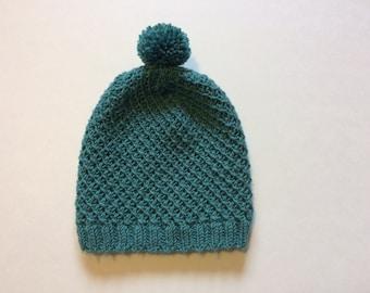 Children's Twist Pom Pom Hat