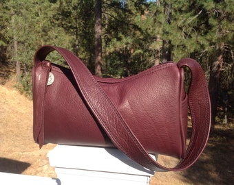 Leather Small Sling Purse Bag