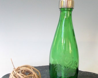 1 Upcycled Repurposed Green Water Bottle Soap/Lotion  Dispensers