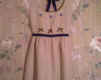 Embroidered dress (hand embroidery). Vyshyvanka.