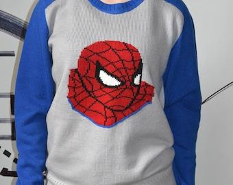 Spider man sweater comics