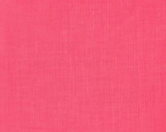 Plain FRANCE DUVAL-STALLA Peony pink crepe fabric