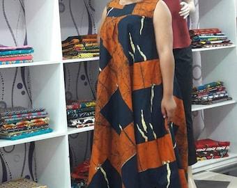 African Prints Maxi Dress