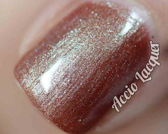 The Upside Down Nail Polish - color shifting tawny bronze
