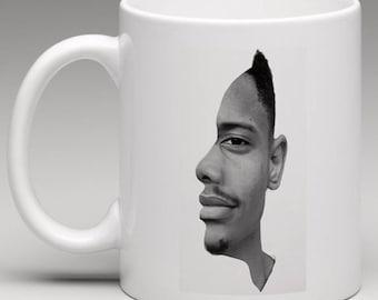 Head Optical Illusion - Novelty Mug
