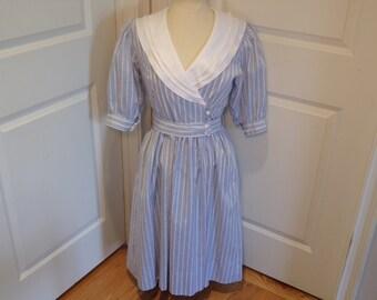 Vintage 1980's  Lanz Dress