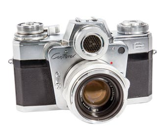 "Zeiss Ikon Contarex ""Bullseye""  35mm Rare Film SLR Camera Images- Digital Download - 6000px High Quality"