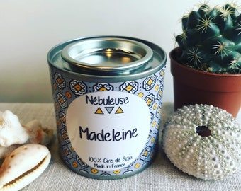 Madeleine - scented, natural, vegetable wax 100% Soy Candle - 100gr