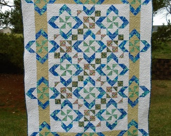 Blue in Bloom PDF Quilt Pattern
