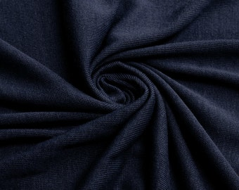 Navy Hacci Classic Sweater knit by the Yard- 1 Yard Style 13243