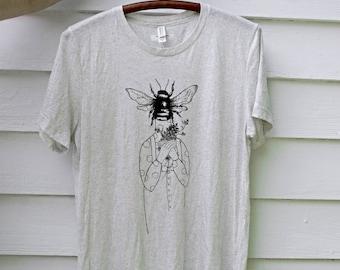Charming Bumble Bee Screen Printed Shirt