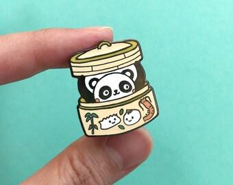 Dim Sum Panda - Hard Enamel Pin