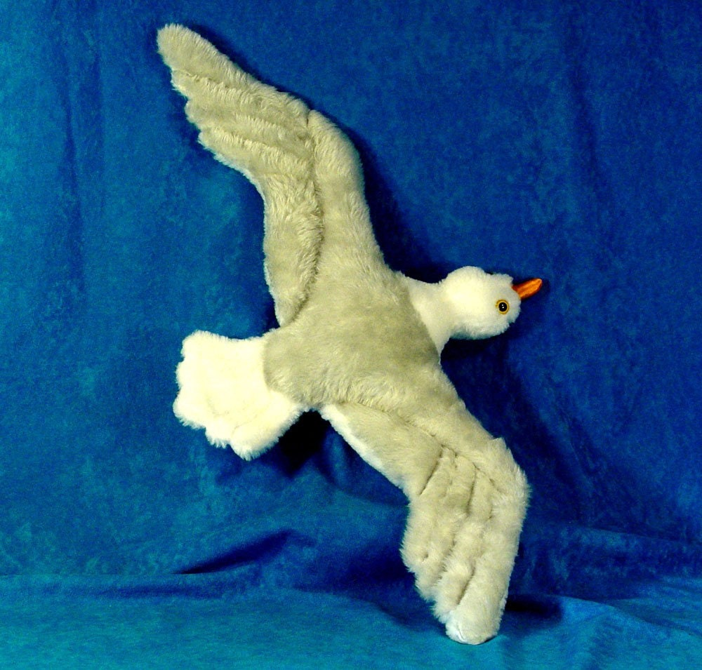Schnittmuster Vogel ein Soaring Möwe einfach Nähen machen