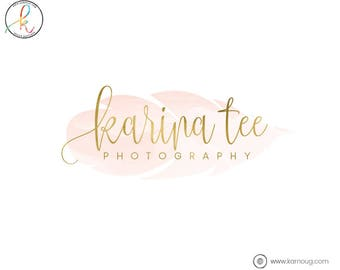 Watercolor Logo Feather Logo Photography Logo Logos Premade Logo Watermark Logo Business Logo Branding Logo Custom Logo Logos and Watermarks