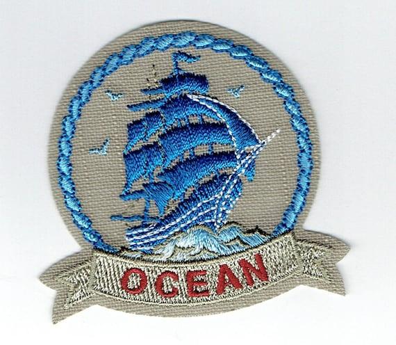 "Patch fusible trend design ""Ocean"""