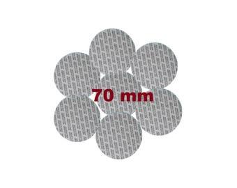 70 mm Pressure Sensitive PS Foam Cap Liners Seal Tamper Seal Sealed for your Protection US Seller