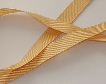 1 meter Ribbon satin grosgrain 16mm wide flesh