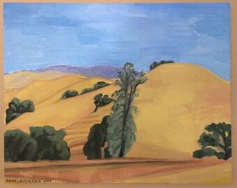Golden Hills and Oak Woodlands