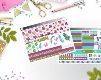 monthly kit - Juni  (Happy Planner Stickers)