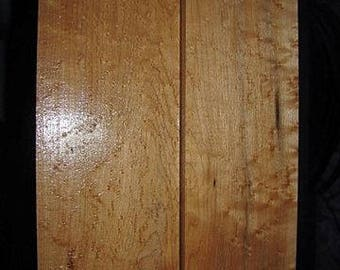 2 Eastern Rock Birdseye Maple Lumber 29-1/2 x 3-7/8 & 29-1/2 x 4-1/4 x 1-1/4