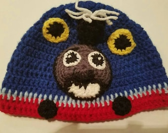 Thomas the train toddler hat/boys hat/baby hat.