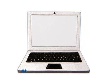 Laptop Personalized Christmas Ornament / Laptop Computer Ornament / Freelance Life / Freelancer / Writer
