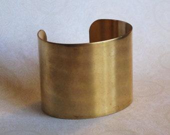 Brass Cuff Bracelet Blank_2 Inches Wide_Brass Blank_Jewelry Design_