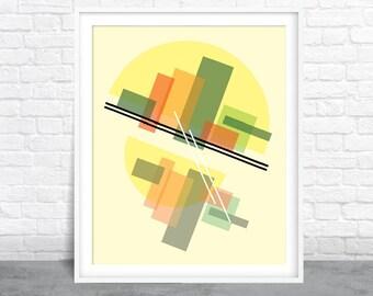 Abstract Art, Geometric Design, Shapes Art