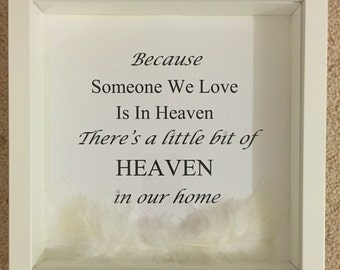 Remembrance Box Frame
