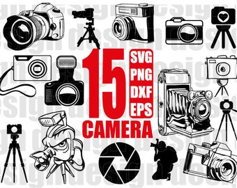 CAMERA SVG, photo svg, photography svg, digital camera, camera clipart, photographer svg, shooting svg, clipart, stencil, decal, cut files