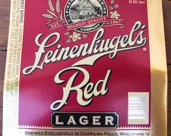 Beer Labels - Leinenkugel's Red Lager