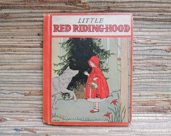 Little Red Riding-Hood Children's Book 1933 Rand McNally & Company