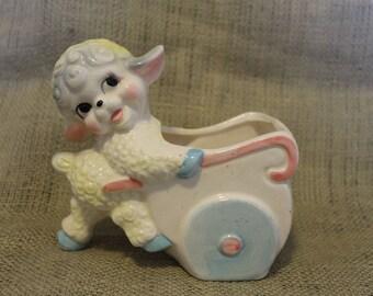 Lamb Baby Planter