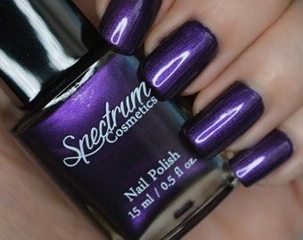 Purple Nail Polish COVEN Halloween Shade