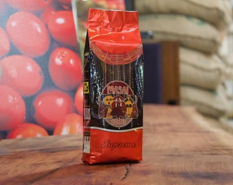 Red Supreme Roasted/Ground  Coffee 250grm