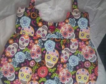 Day Of The Dead, Sugar Skulls, Halloween, Shoulder Bag, Purse, Handbag, Sugar Skull Accessories, Free Shipping!!