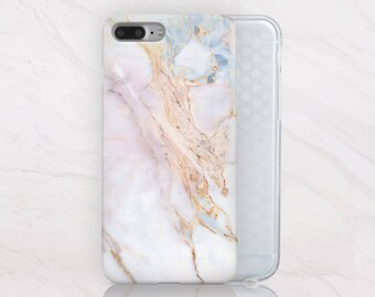 White Marble iPhone 8 Plus Case Phone iPhone 7 Plus Case iPhone 8 Case iPhone 7 Case Marble Phone 6 Case iPhone 6s Plus Case Stone RD5024