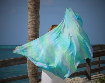 Sea Goddess ... hand painted silk sarong