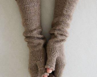 Knit mittens knitted gloves mittens fingerless mittens fingerless gloves soft gloves womens mittens alpaca mittens winter mittens gift women