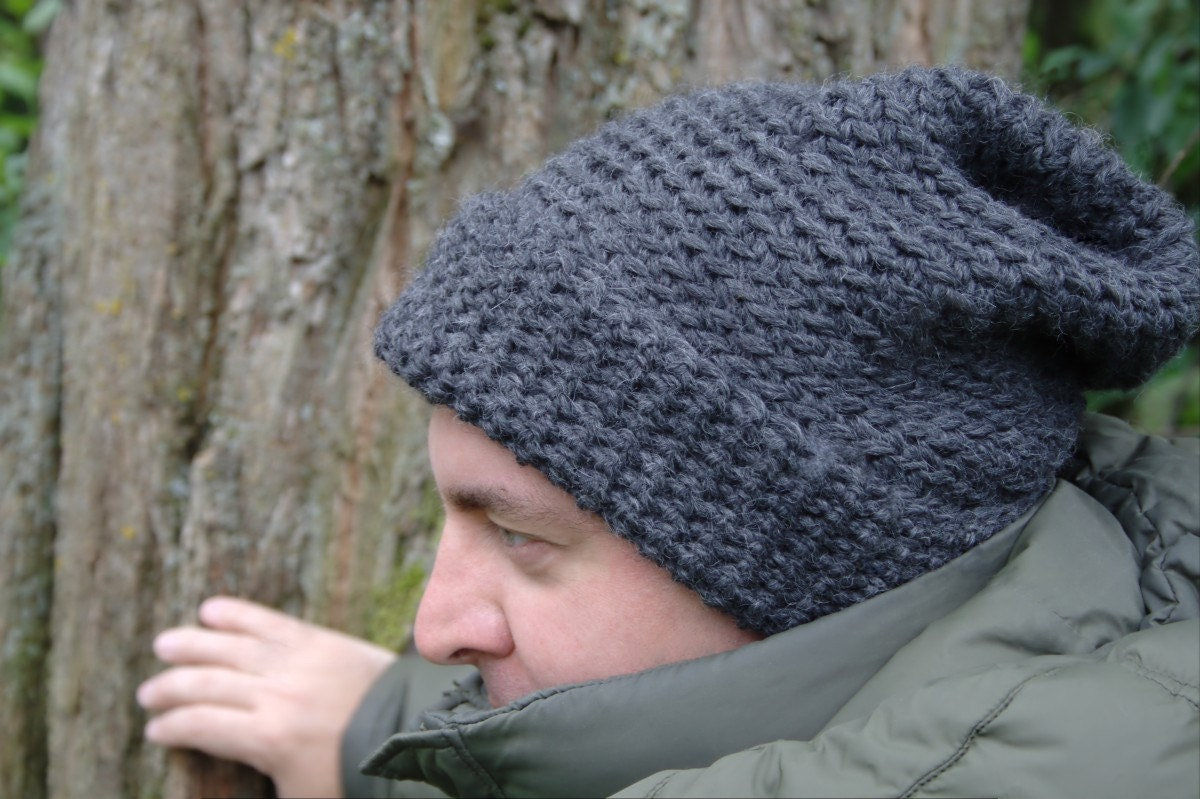 Perfect Crochet Pattern Mens Beanie Crest - Easy Scarf Knitting ...