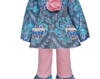 AnnLoren Girls 2 piece Outfit