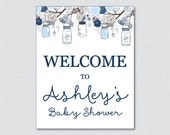 Baby Shower Welcome Sign ...