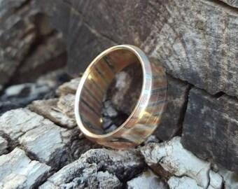 Mokume Gane Mosaic Ring