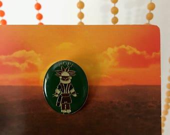 Vintage Deadstock Hopi Native American Tribe Pin
