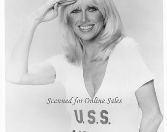 Suzanne Sommers USS Ranger 8x10 Photo